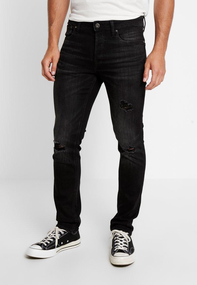 Jack & Jones - JJITIM JJORIGINAL  - Slim fit jeans - black denim