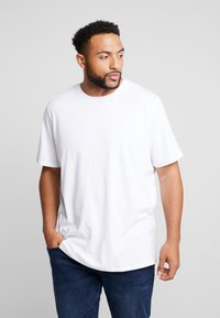 Jack & Jones - BASIC NECK NOOS - T-paita - white - 0