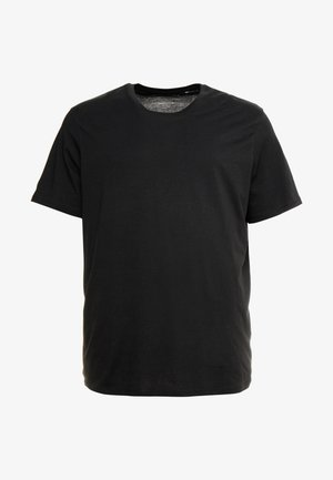 BASIC NECK NOOS - T-shirt - bas - black