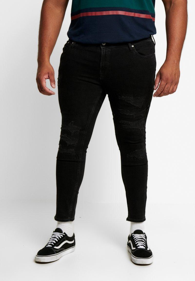 Jack & Jones - JJILIAM JJORIGINAL - Jeans Skinny - black