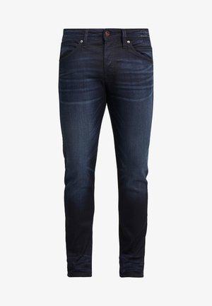 JJIGLENN JJFOX  - Slim fit -farkut - blue denim