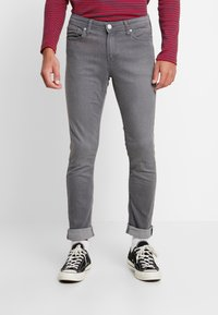 Jack & Jones - JJIGLENN JJORIGINAL - Slim fit jeans - dark-blue denim - 0