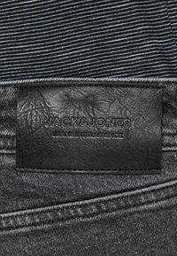 Jack & Jones - Jeansy Straight Leg - black denim - 4