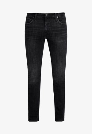 JJIGLENN JJFELIX - Džíny Slim Fit - black denim