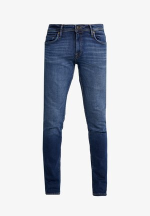 JJIGLENN JJFELIX  - Džíny Slim Fit - blue denim