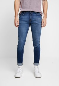 Jack & Jones - JJIGLENN JJFELIX  - Slim fit jeans - blue denim - 0