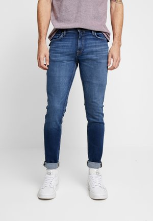 JJIGLENN JJFELIX  - Vaqueros slim fit - blue denim