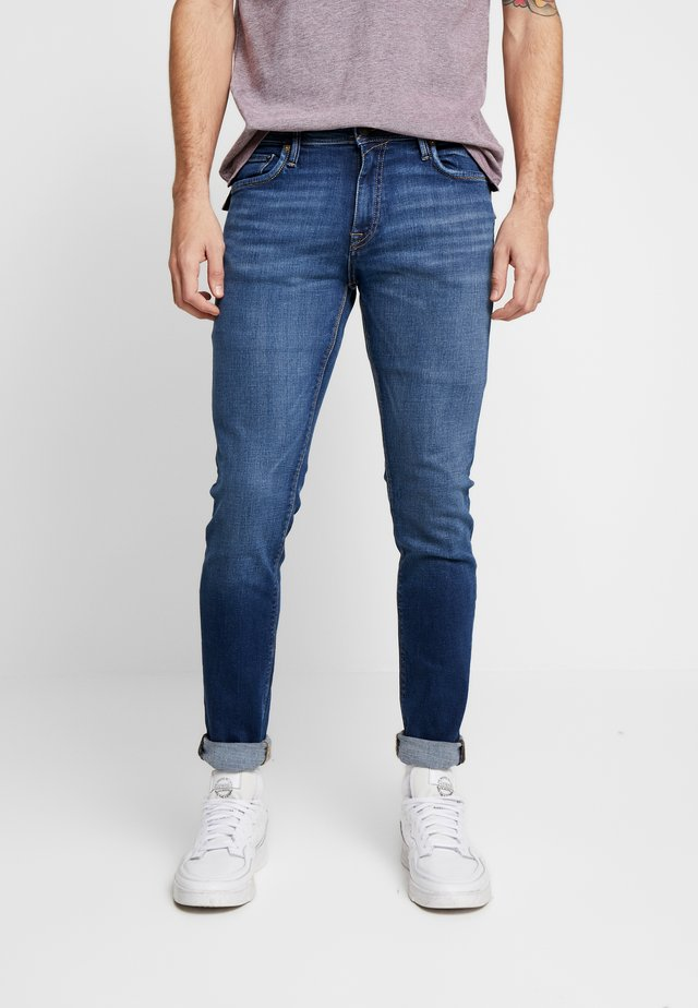 JJIGLENN JJFELIX  - Slim fit jeans - blue denim