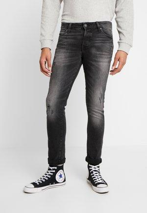 JJIGLENN JJICON - Jeans slim fit - black denim