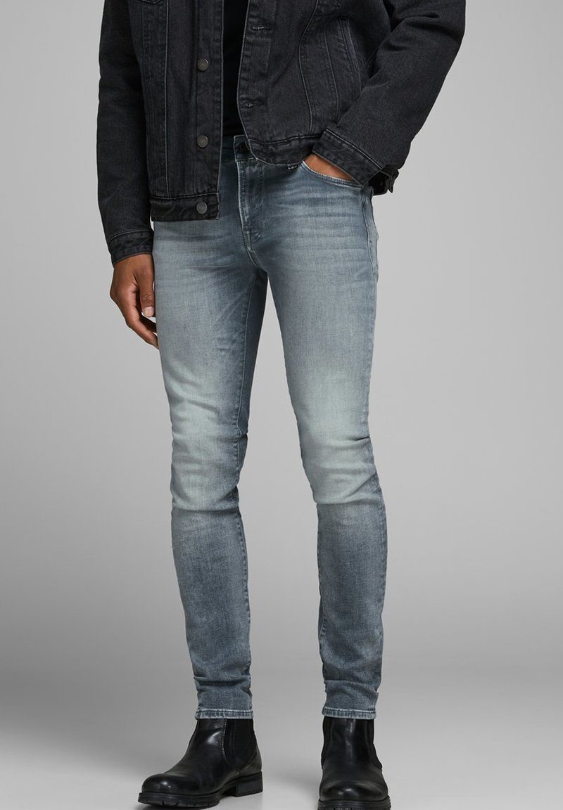 Jack & Jones - Jeans Skinny Fit - grey denim