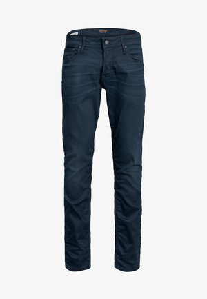 JEANS CLARK ICON - Jeansy Straight Leg - blue denim