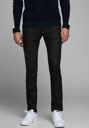GLENN GRIDD JOS - Slim fit jeans - black denim