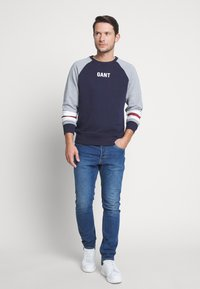 Jack & Jones - JJITIM JJORIGINAL - Slim fit jeans - blue denim - 1