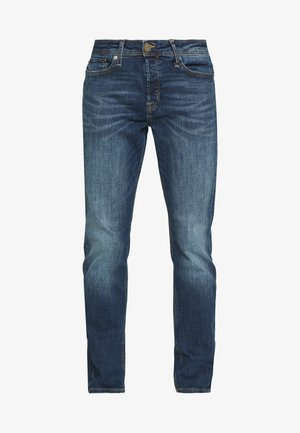 JJITIM JJORIGINAL - Džíny Straight Fit - blue denim