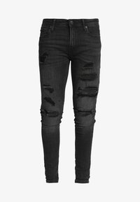 Jack & Jones - ITOM ORIGINAL - Skinny džíny - black denim - 5