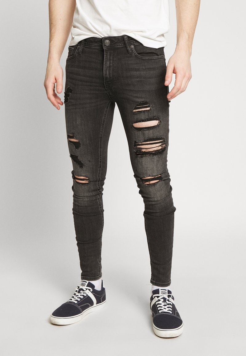 Jack & Jones - ITOM ORIGINAL - Skinny džíny - black denim