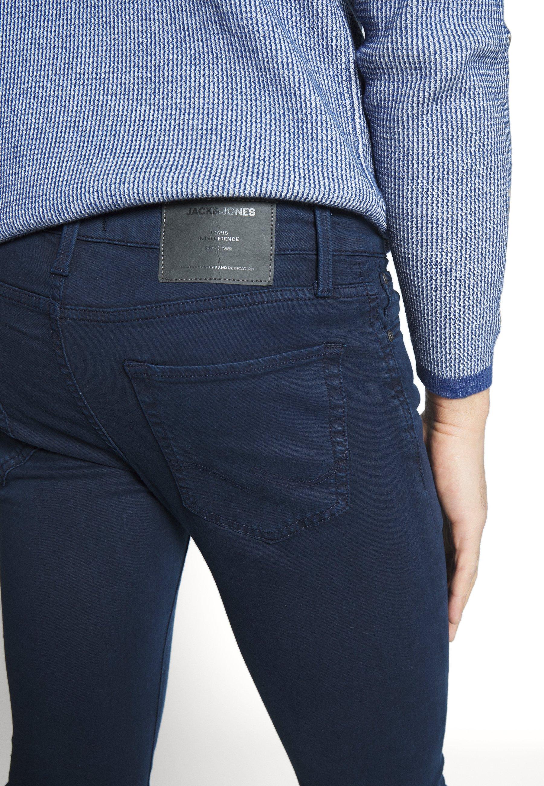 Jack & Jones Jiglenn Jjicon Ama - Jeans Slim Fit Navy Blazer