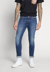 Jack & Jones - JJILIAM JJORIGINAL  - Jeans Skinny - blue denim - 0