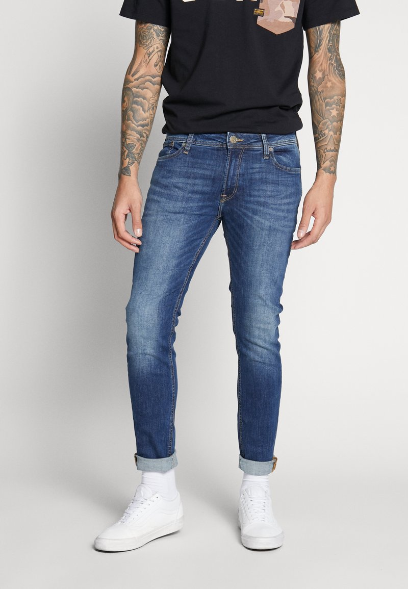 Jack & Jones - JJILIAM JJORIGINAL  - Jeans Skinny - blue denim