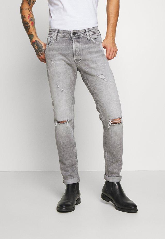 JJIGLENN JJORIGINAL  - Jeans Tapered Fit - grey denim