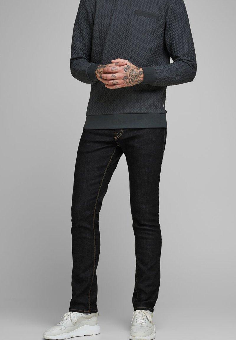 Jack & Jones - SLIM FIT JEANS  - Jeans slim fit - blue
