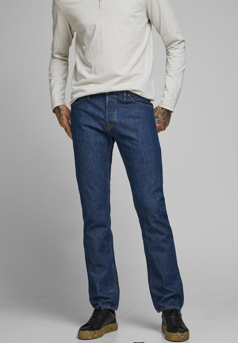 Jack & Jones - MIKE ORIGINAL AM - Straight leg jeans - blue denim