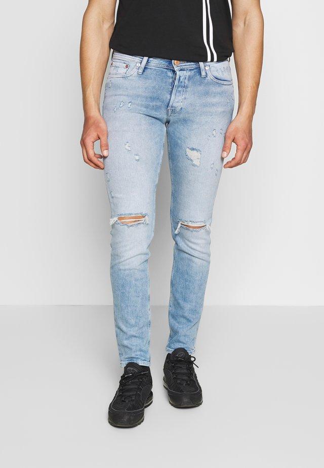 JJIGLENN JJORIGINAL JOS - Slim fit -farkut - blue denim