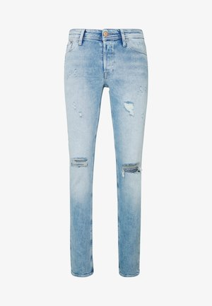 JJIGLENN JJORIGINAL JOS - Slim fit jeans - blue denim