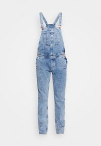 Jack & Jones - IMIKE DUNGAREE - Haalari - blue denim - 0