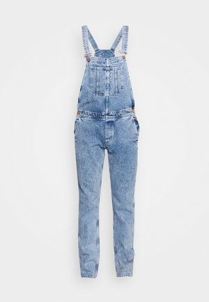 IMIKE DUNGAREE - Lacláče - blue denim