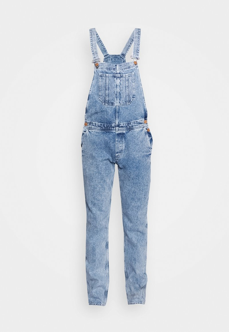 Jack & Jones - IMIKE DUNGAREE - Haalari - blue denim