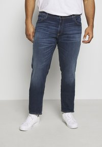 Jack & Jones - JJIGLENN JJORIGINAL SIK  - Slim fit jeans - blue denim - 0