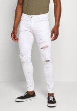 JJILIAM JJORIGINAL - Jeans Skinny Fit - white denim