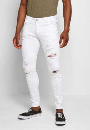 JJILIAM JJORIGINAL - Jeans Skinny Fit - white denim