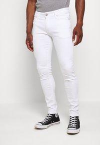 Jack & Jones PREMIUM - JJILIAM JJORIGINAL  - Slim fit jeans - white denim - 0