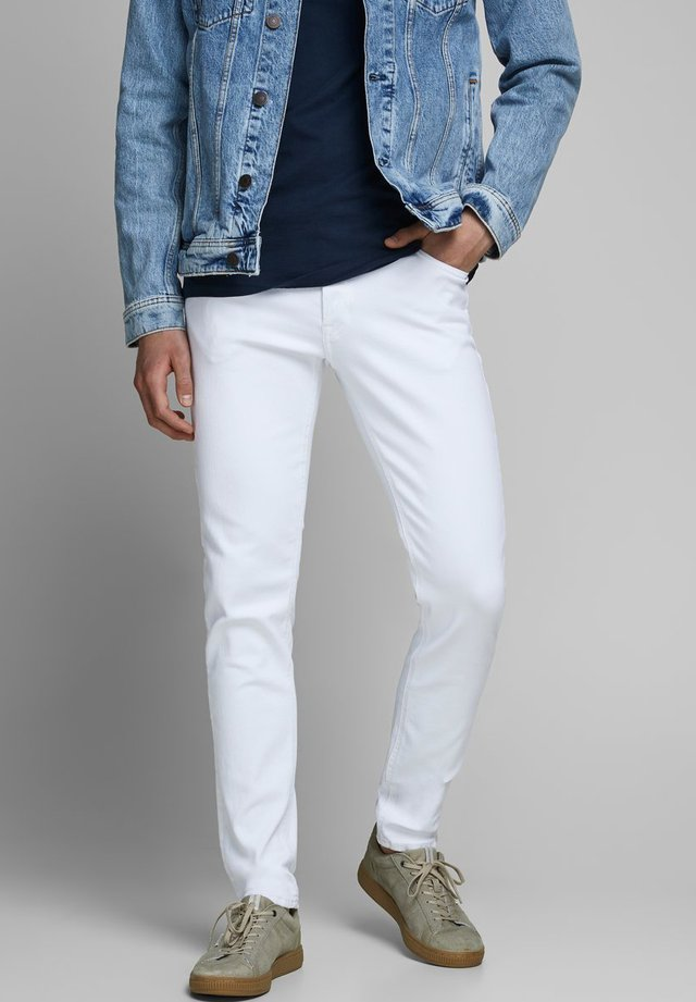 GLENN - Slim fit jeans - white denim