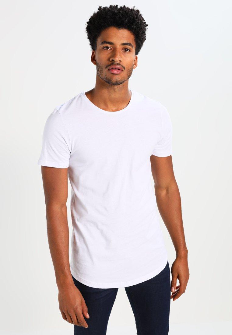 Jack & Jones - JJPRHUGO TEE CREW NECK  - Basic T-shirt - white
