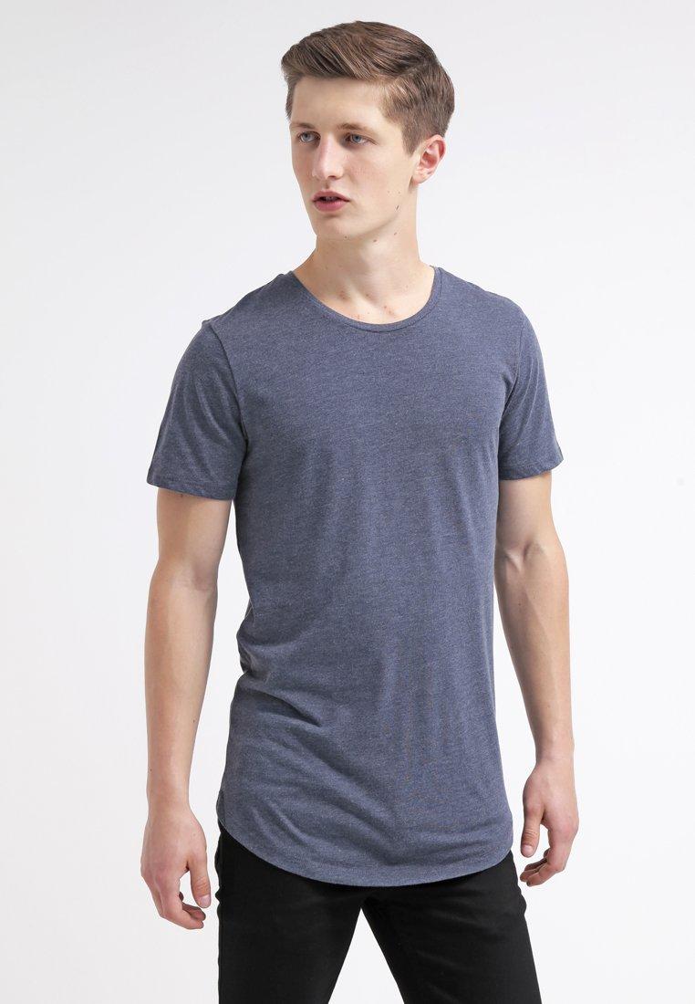 Jack & Jones - JJPRHUGO TEE CREW NECK  - T-Shirt basic - navy blazer