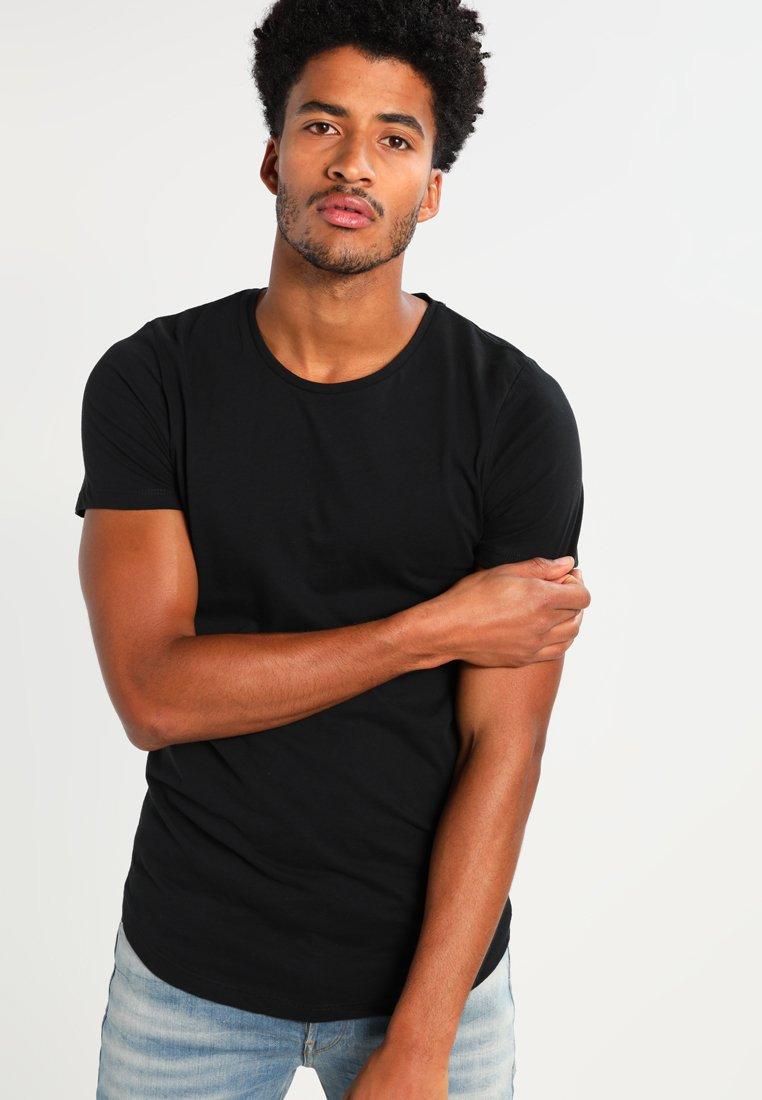 Jack & Jones - JJPRHUGO TEE CREW NECK  - T-Shirt basic - black