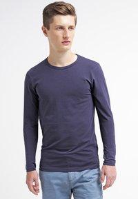 Jack & Jones - JJBASIC  - Bluzka z długim rękawem - navy blue - 0