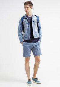 Jack & Jones - JJBASIC  - Bluzka z długim rękawem - navy blue - 1