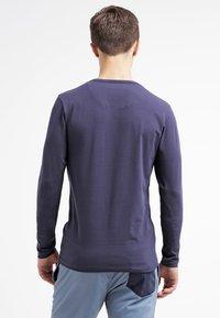 Jack & Jones - JJBASIC  - Bluzka z długim rękawem - navy blue - 2