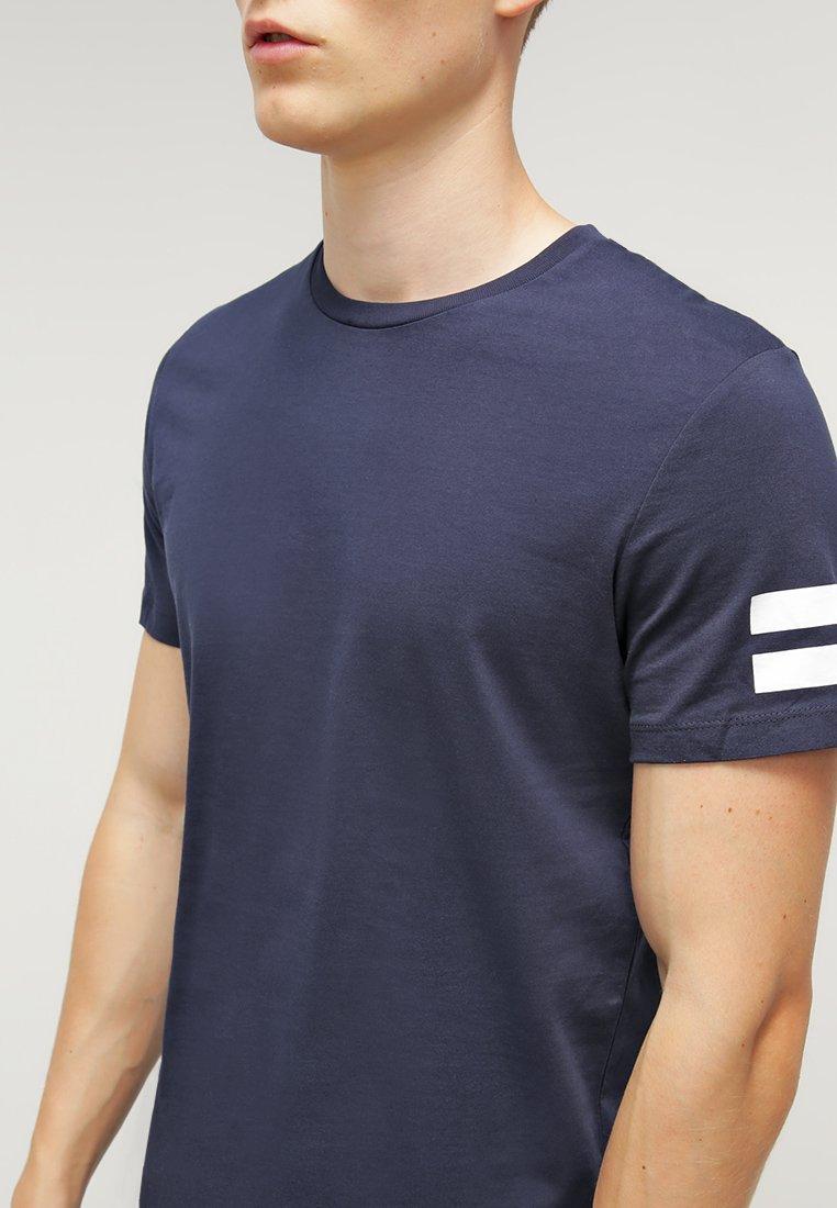 Imprimé shirt Crew Navy Blazer Neck Jackamp; Jones FitT Slim Jcoboro 0OP8Xnwk