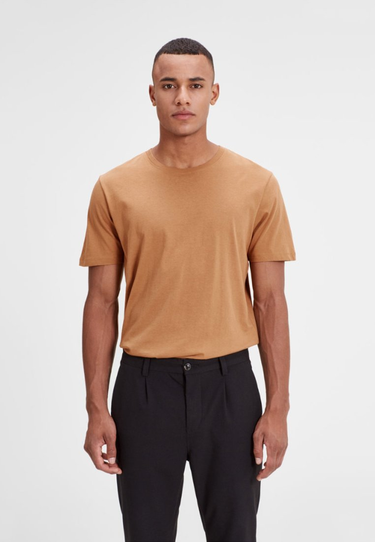Jack & Jones T-shirt basic - tobacco brown