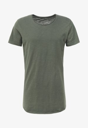 JJEBAS TEE NECK ESSENTIALS REGULAR FIT - T-Shirt basic - thyme
