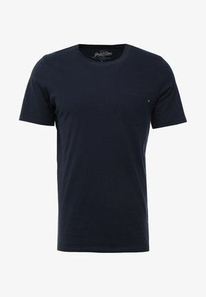 JJEPOCKET TEE SS O-NECK - T-Shirt basic - navy blazer