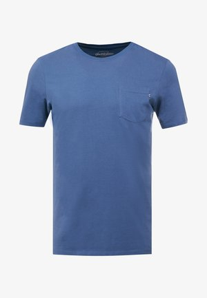 JJEPOCKET TEE SS O-NECK - T-shirt basique - denim blue