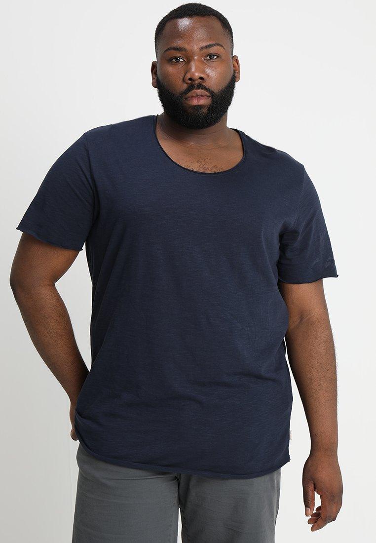 Jack & Jones - JJEBAS - T-shirts basic - navy blazer