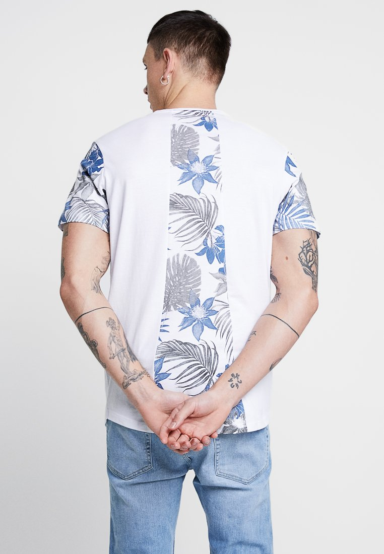 Jack & Jones JORGAN TEE CREW NECK - T-shirt imprimé white