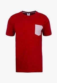 Jack & Jones - JCOBOSTON TEE CREW NECK SLIM FIT - T-shirt basic - tango re - 3